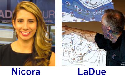 Nicora and LaDue on WeatherBrains 457